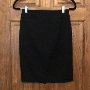 Express black pencil skirt. Size 0.